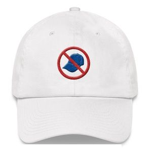 Solid White 🚫🧢 Dad Hat